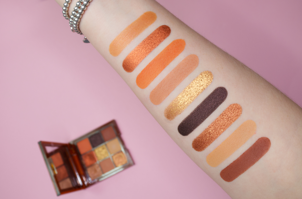 Huda Beauty Caramel Brown Obsessions